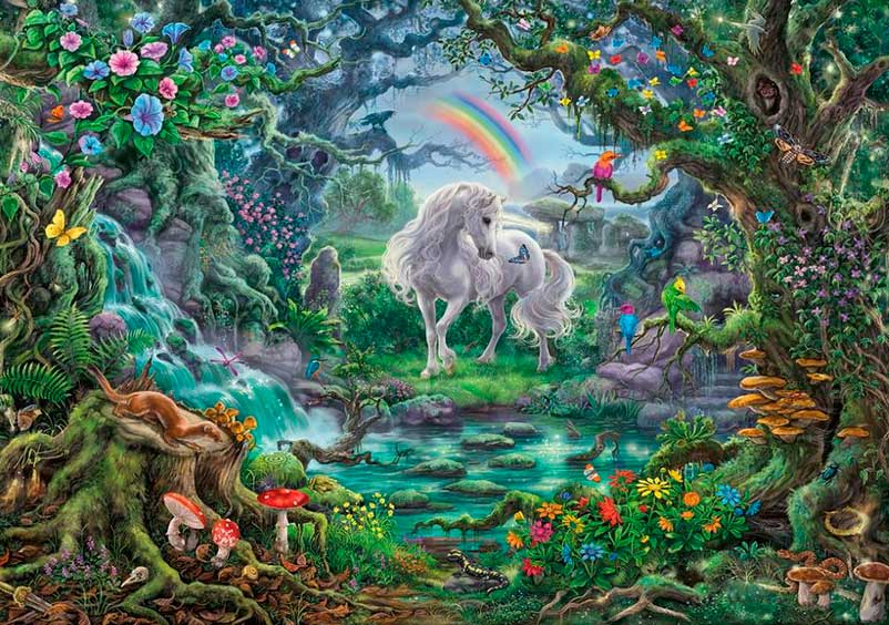 Puzzle Escape Ravensburger Unicornio de 759 Piezas