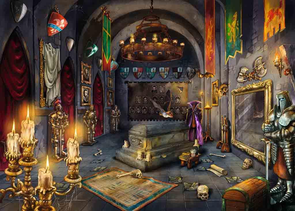 Puzzle Escape Ravensburger Vampiro de 759 Piezas