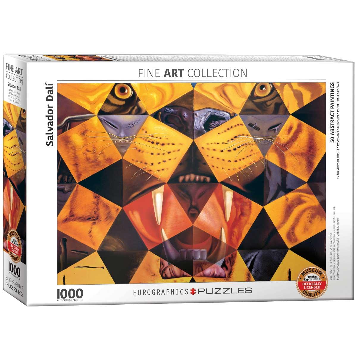 Puzzle Eurographics 50 Pinturas Abstractas de 1000 Piezas