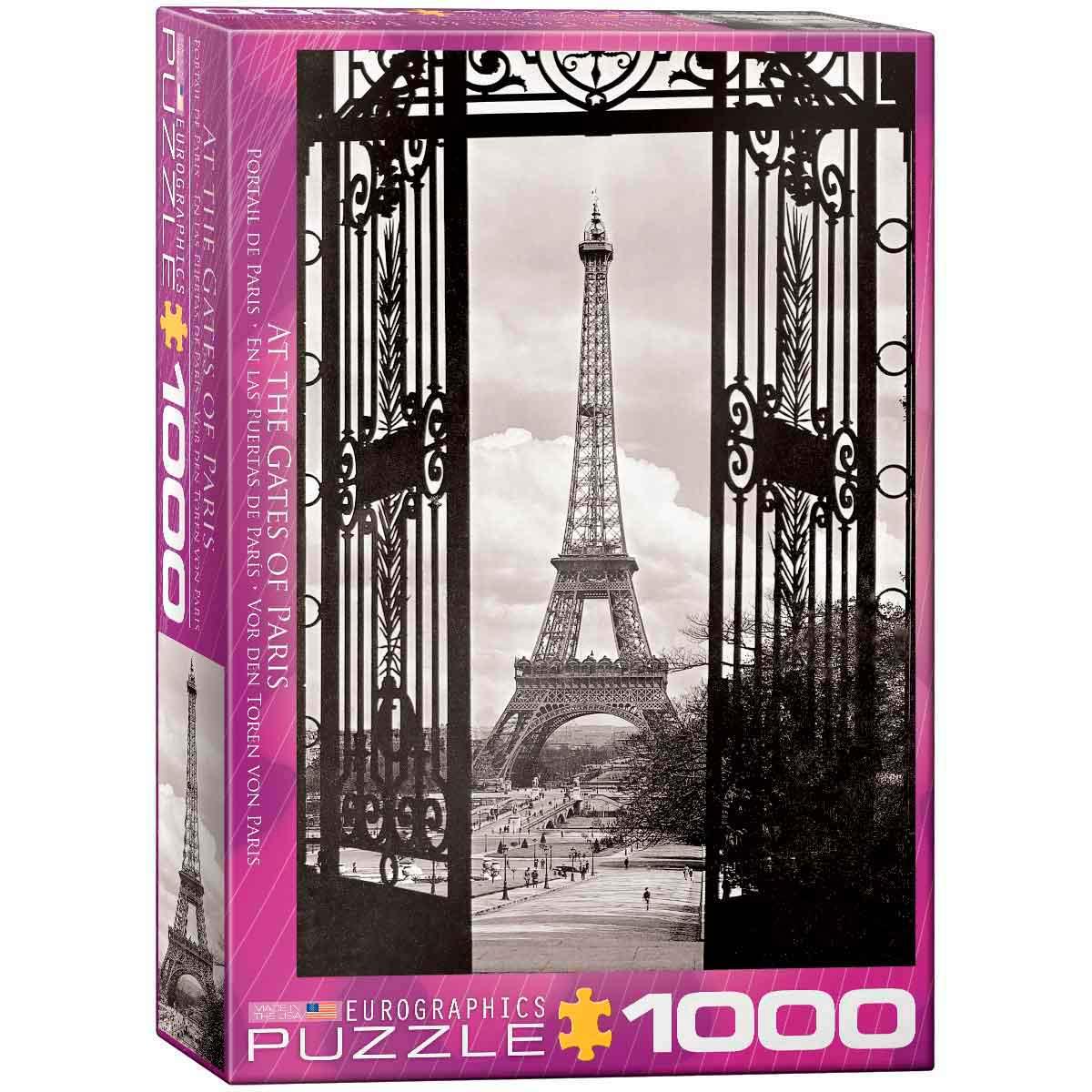 Puzzle Eurographics A las Puertas de París 1000 Piezas