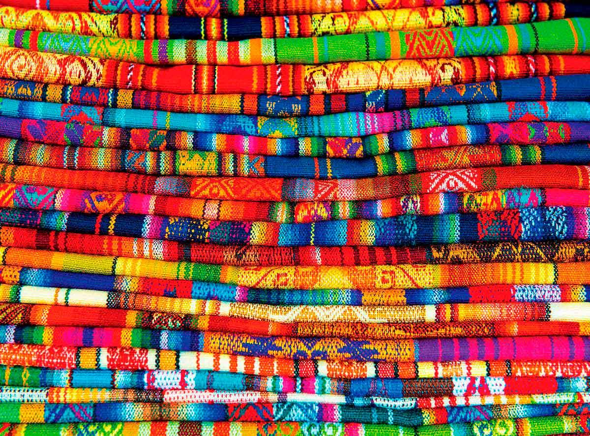 Puzzle Eurographics Alfombras Peruanas de 1000 Piezas