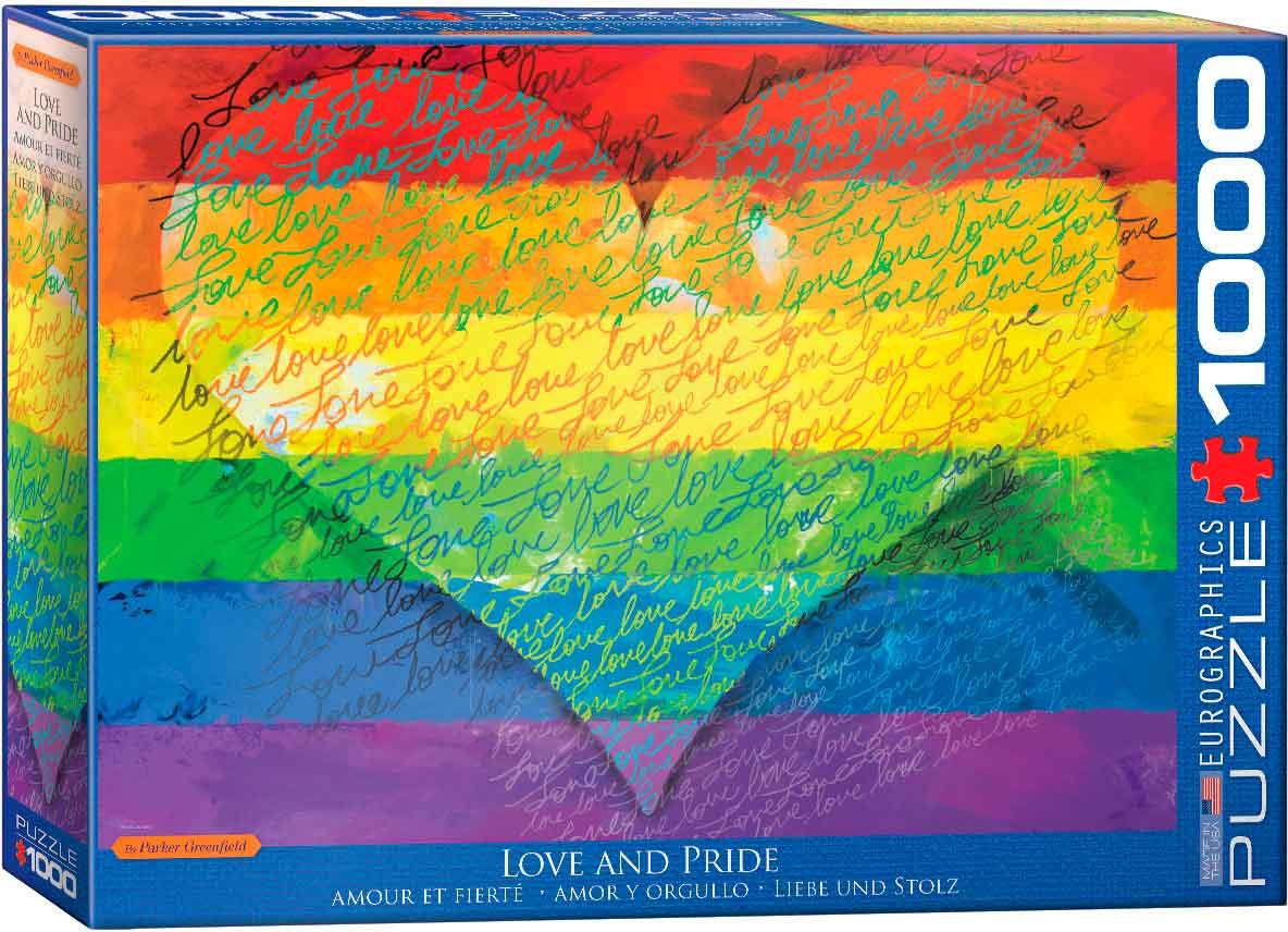 Puzzle Eurographics Amor y Orgullo de 1000 Piezas