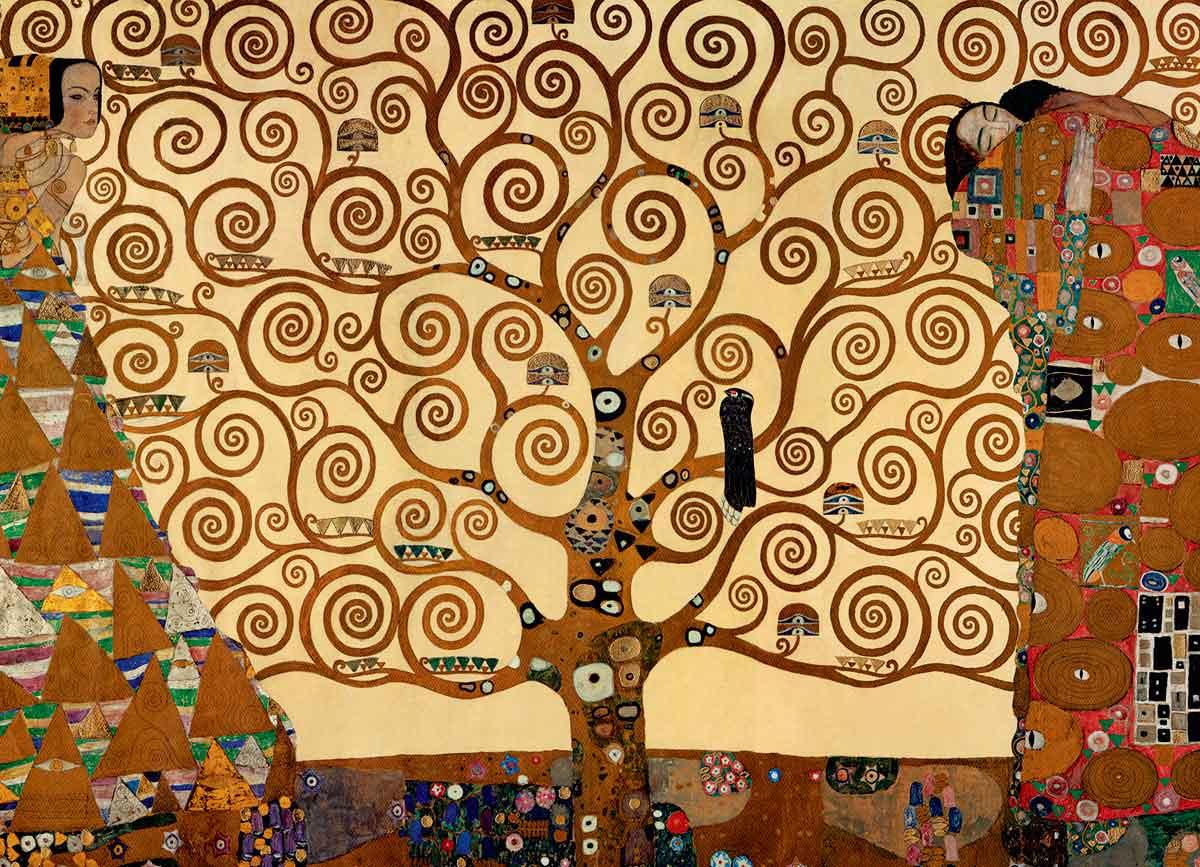 Comprar Puzzle Eurographics árbol De La Vida De 1000 Piezas