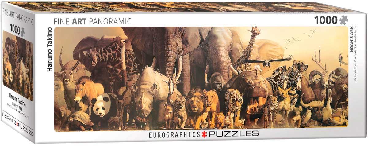 Puzzle Eurographics Arca de Noé  de 1000 Piezas