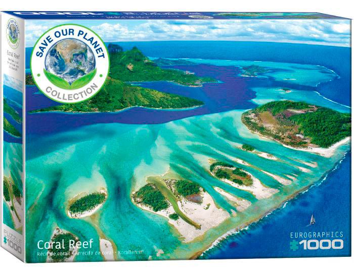 Puzzle Eurographics Arrecife de Coral de 1000 Piezas