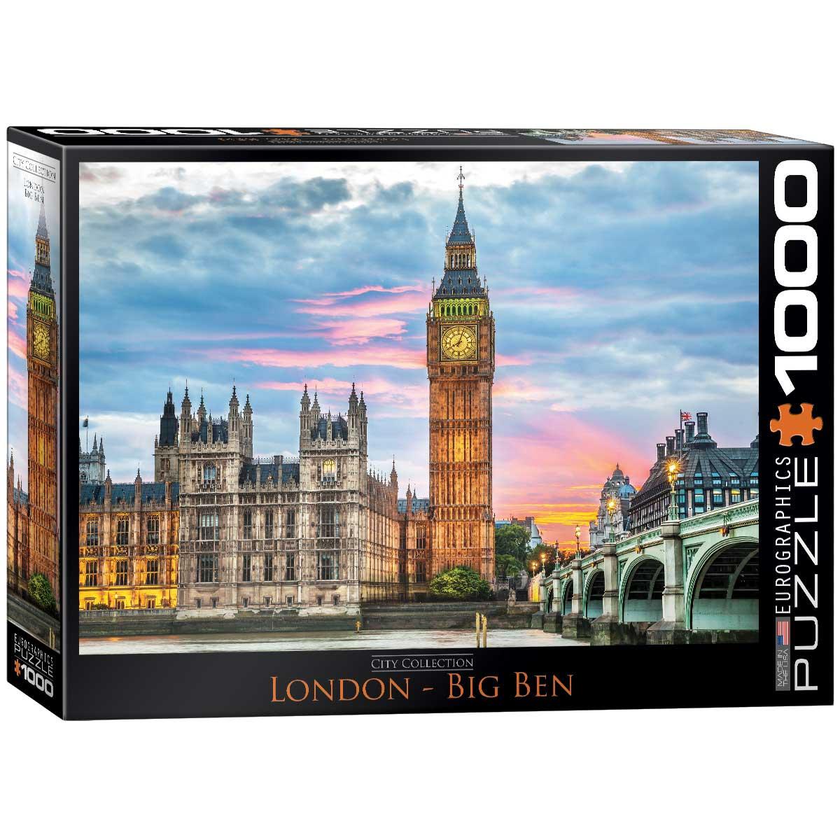Puzzle Eurographics Big Ben, Londres de 1000 Piezas