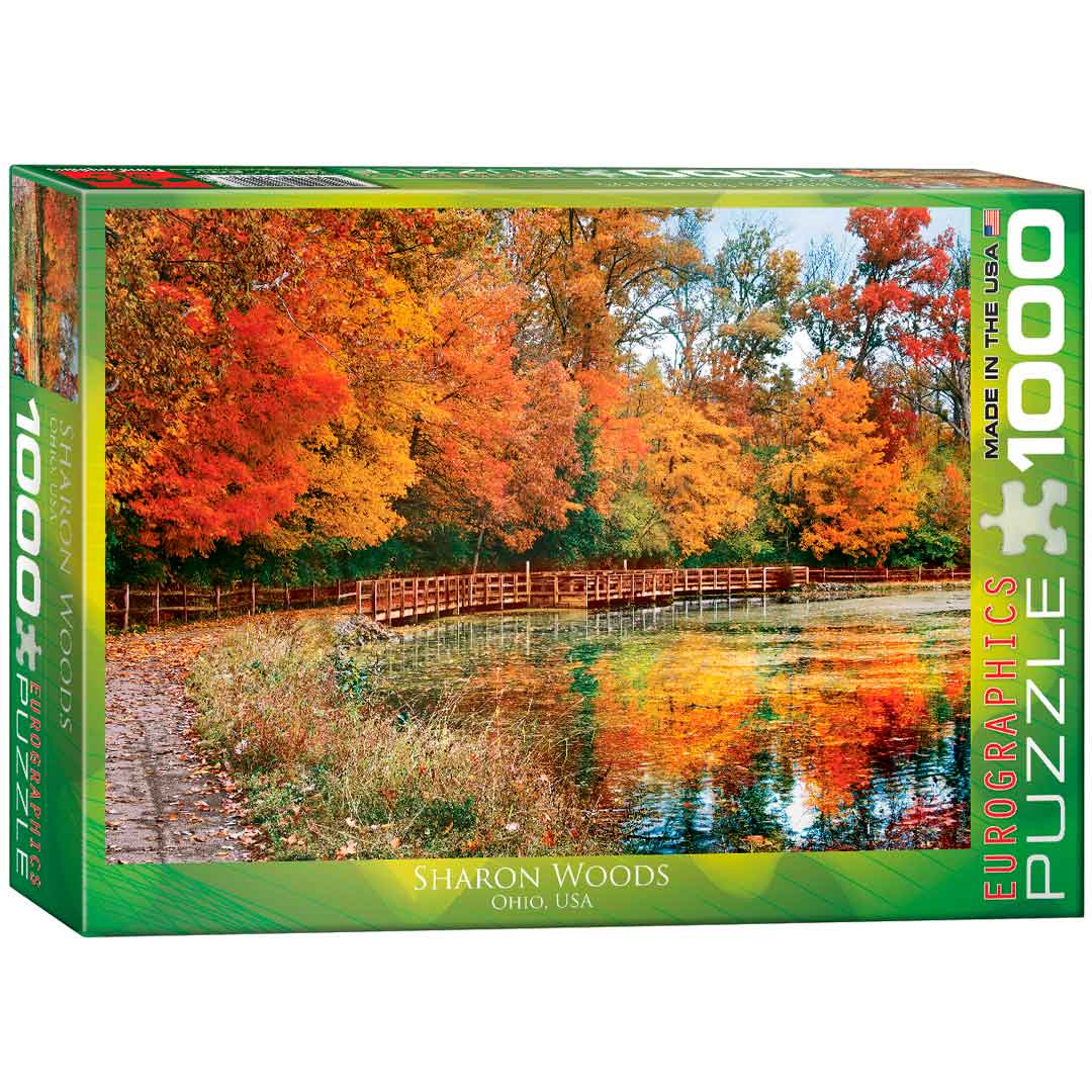 Puzzle Eurographics Bosque de Sharon, Ohio de 1000 Piezas