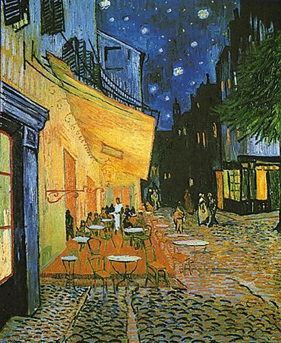 Puzzle Eurographics Café de Noche de 1000 Piezas