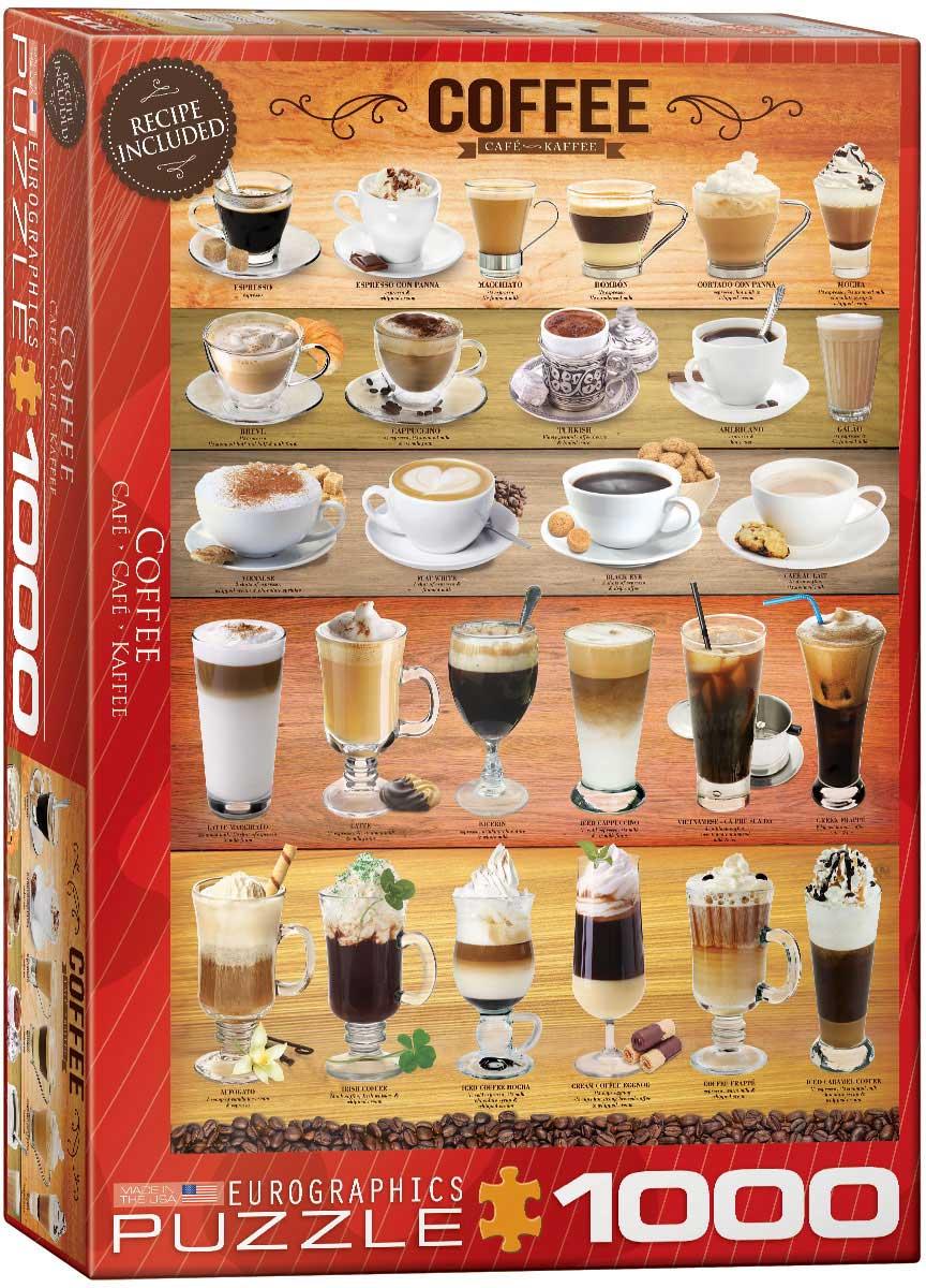 Puzzle Eurographics Cafés del Mundo de 1000 Piezas