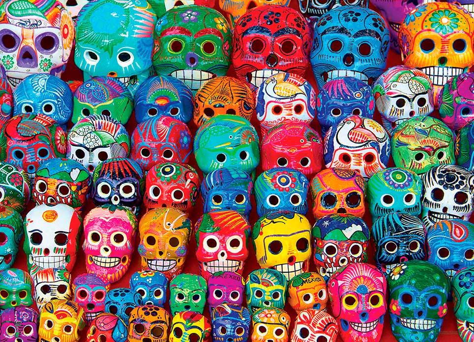 Puzzle Eurographics Calaveras Mexicanas Tradicionales, 1000 Piez