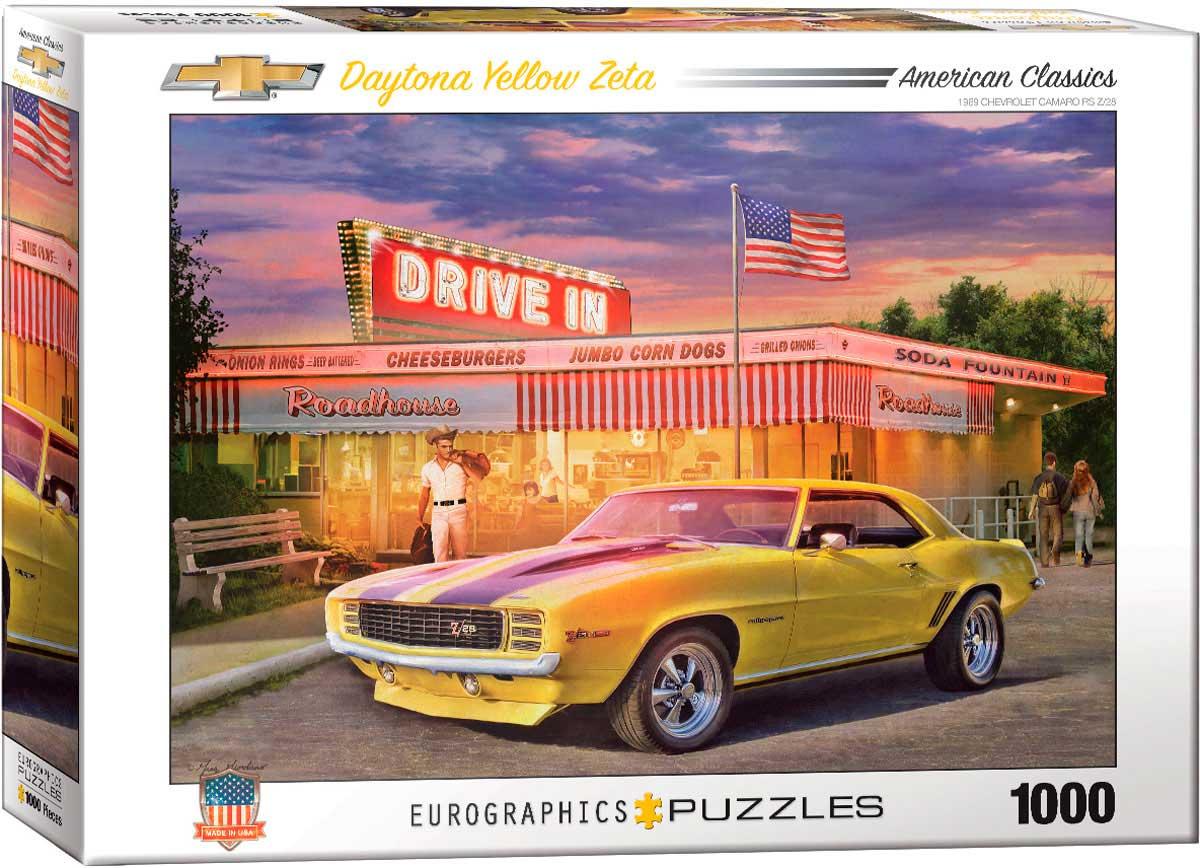 Puzzle Eurographics Camaro Daytona
