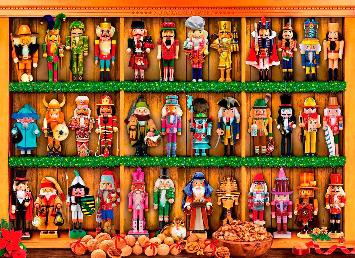 Puzzle Eurographics Cascanueces de Navidad de 1000 Piezas