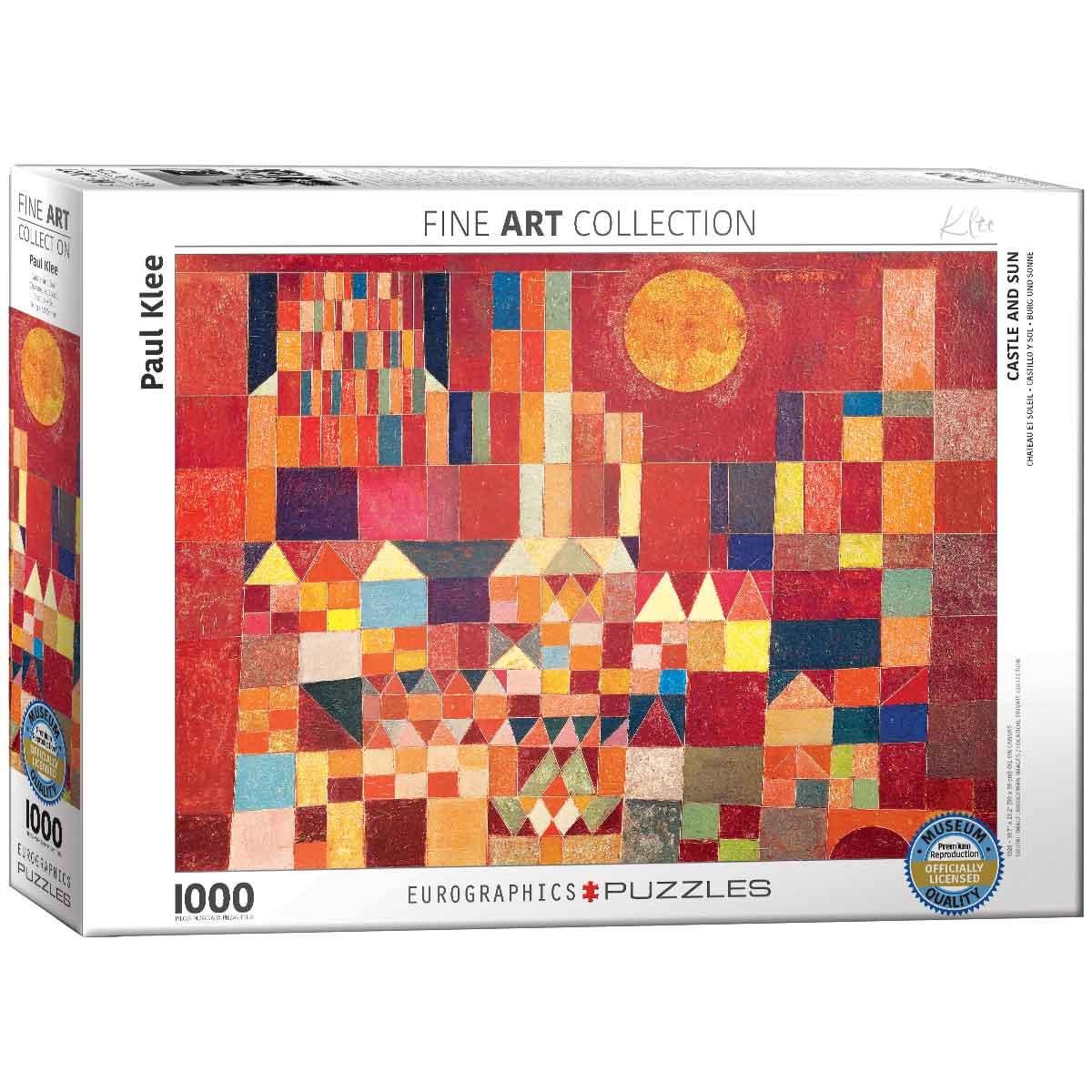 Puzzle Eurographics Castillo y Sol de 1000 Piezas