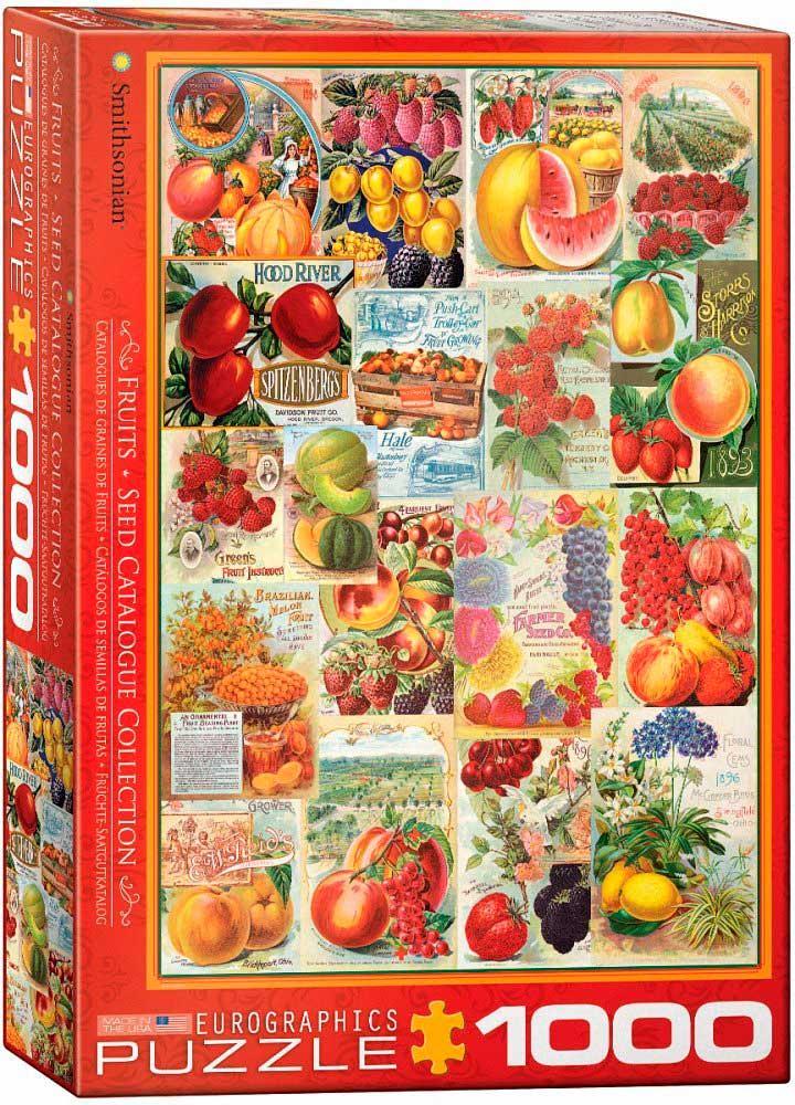 Puzzle Eurographics Catálogos de Semillas de Frutas de 1000 Pzas