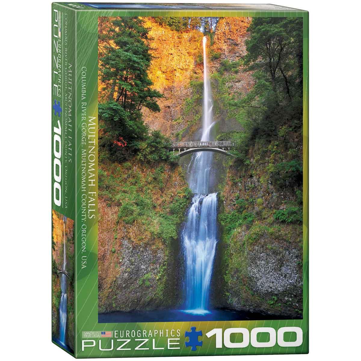 Puzzle Eurographics Cataratas Multnomah, Oregon de 1000 Piezas