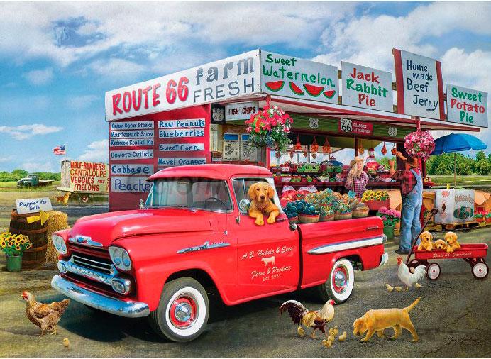 Puzzle Eurographics Chevrolet Apache-Giordano 1959 de 1000 Pzs