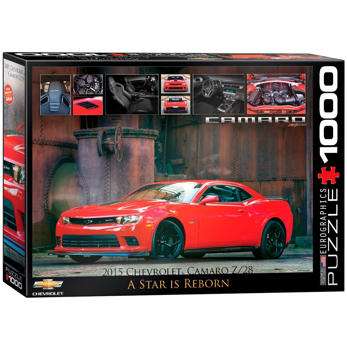 Puzzle Eurographics Chevrolet Camaro Z/28 de 1000 Piezas