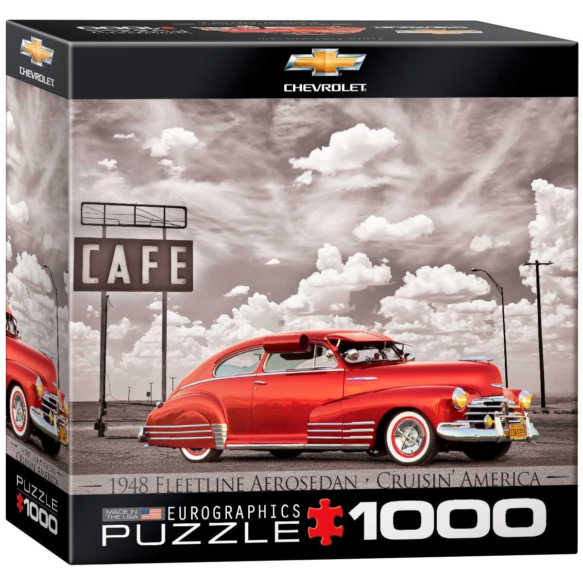 Puzzle Eurographics Chevrolet Fleetline Aerosedan de 1000 Piezas