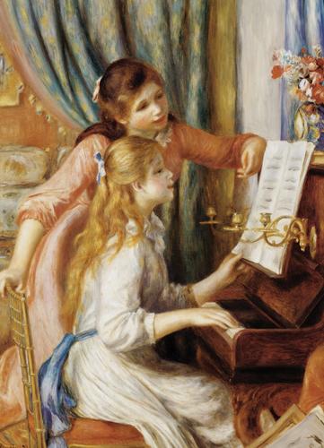 Puzzle Eurographics Chicas al Piano de 1000 Piezas