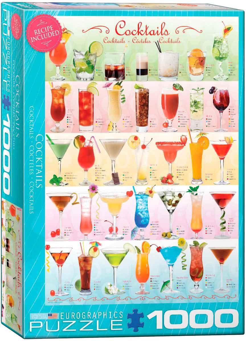 Puzzle Eurographics Cocktails de 1000 Piezas
