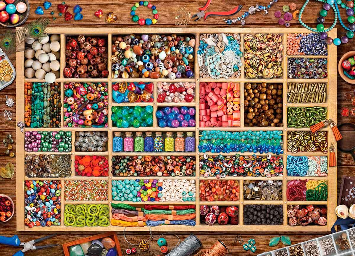 Puzzle Eurographics Colección de Cuentas de 1000 Piezas