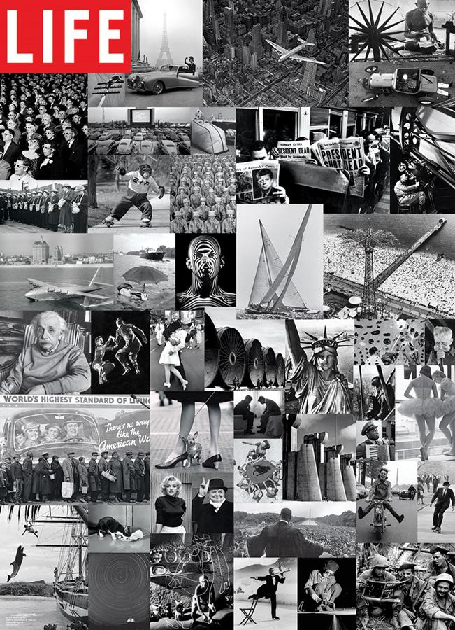 Puzzle Eurographics Colección de Fotografías Clásicas de 1000 Pi