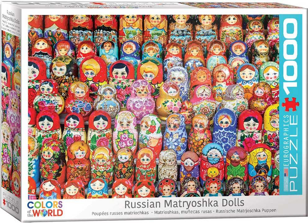 Puzzle Eurographics Colección de Muñecas Matrioska 1000 Piezas