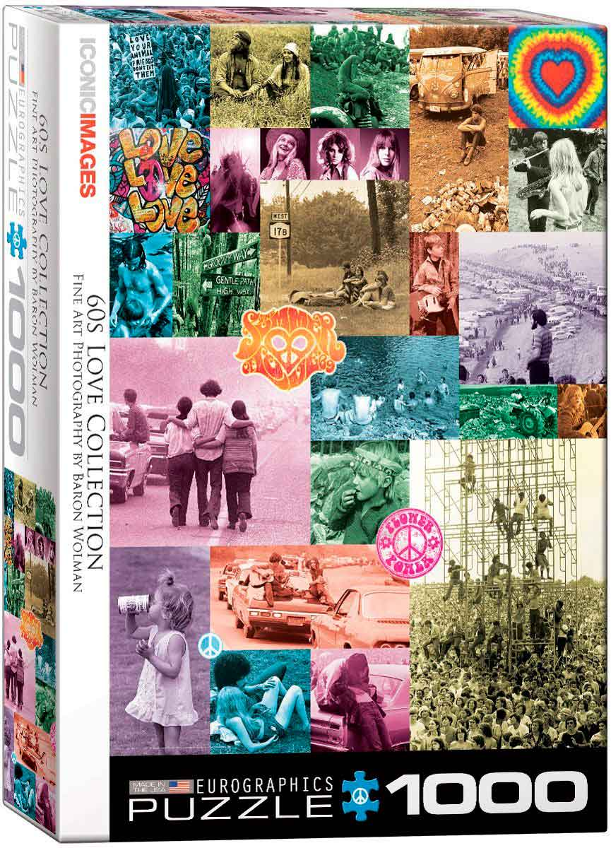 Puzzle Eurographics Colección Love de los 60 de 1000 Piezas