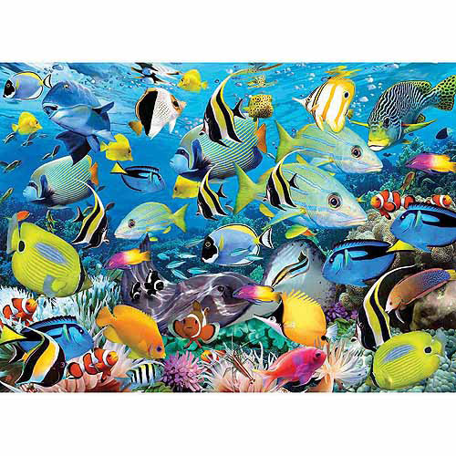 Puzzle Eurographics Los Colores del Océano de 1000 Piezas