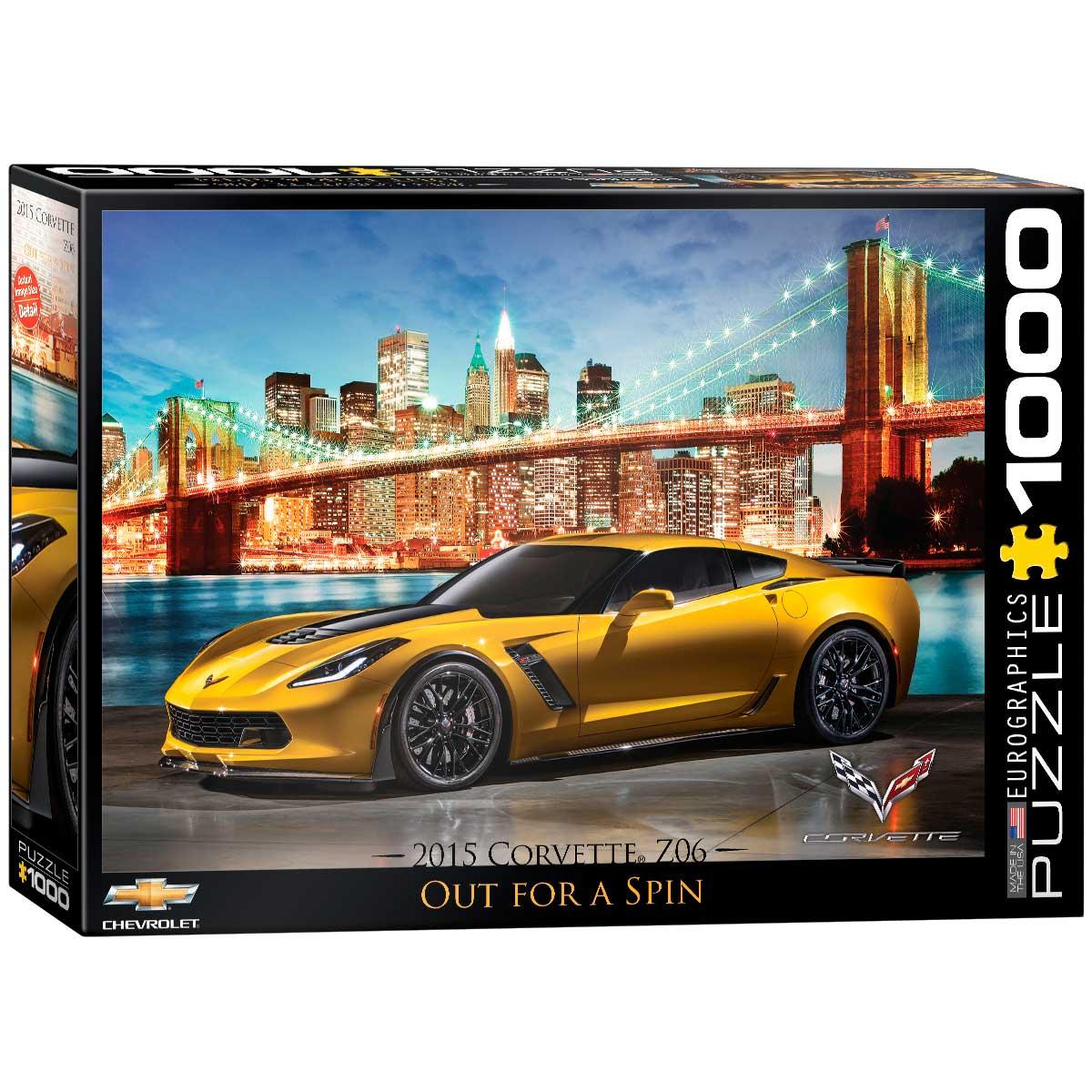Puzzle Eurographics Corvette Z06 de 1000 Piezas