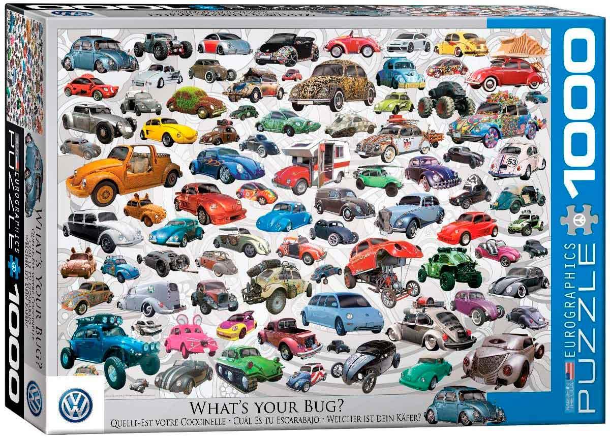 Puzzle Eurographics ¿Cuál Es Tu Escarabajo? de 1000 Piezas