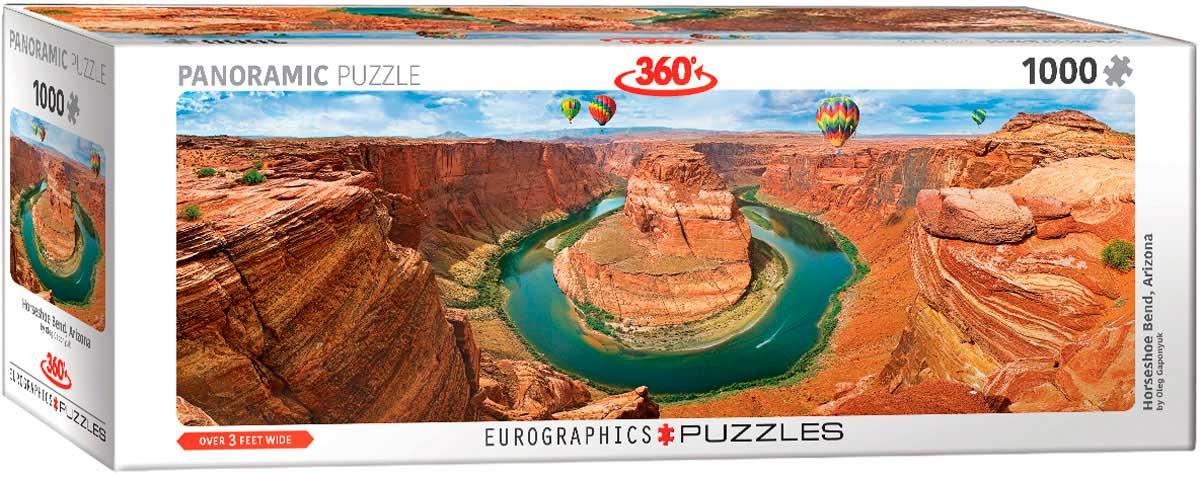 Puzzle Eurographics Curva de Herradura, Arizona de 1000 Pzs