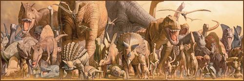 Puzzle Eurographics Dinosaurios de 750 Piezas