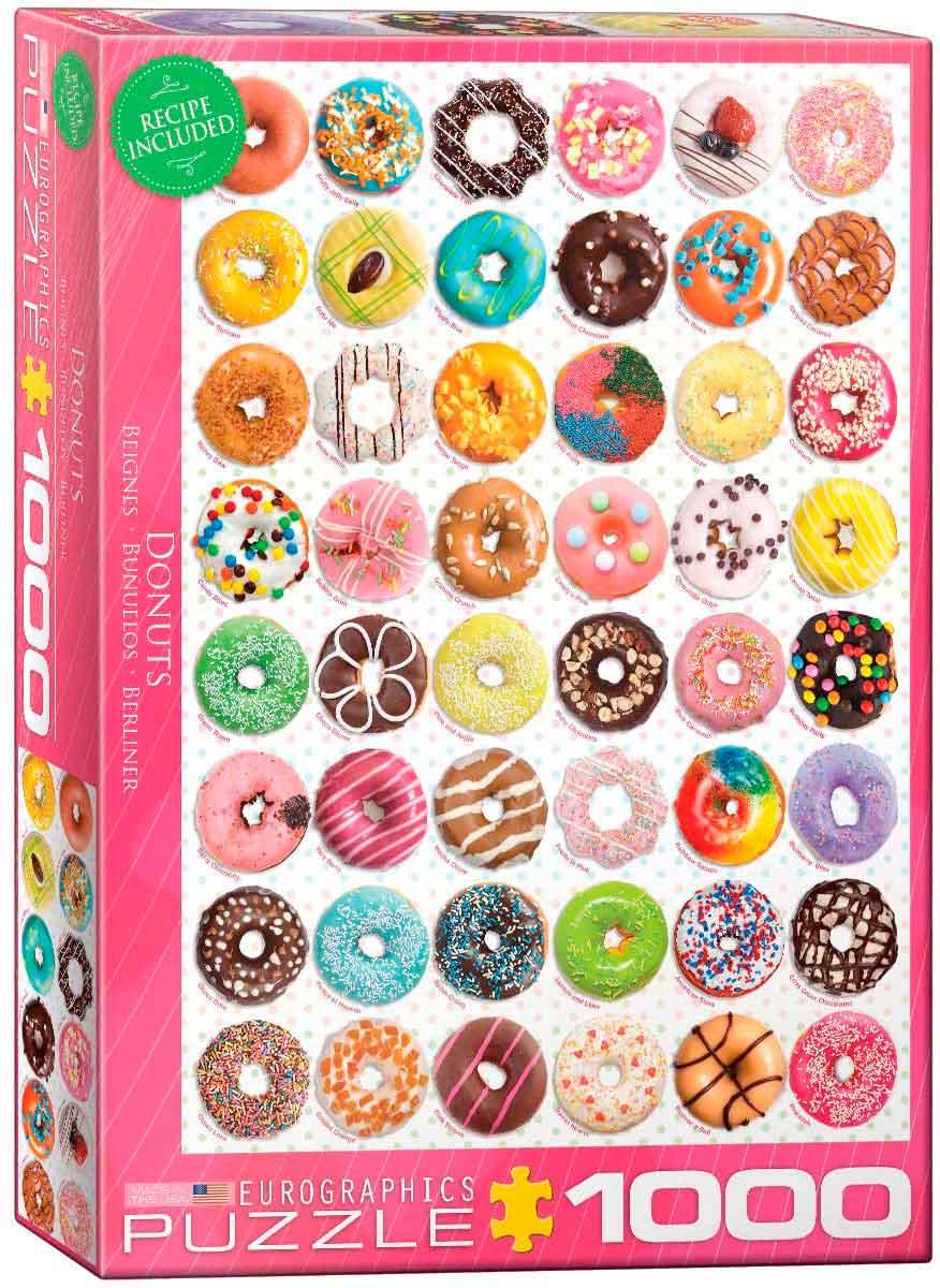 Puzzle Eurographics Donuts 1000 Piezas