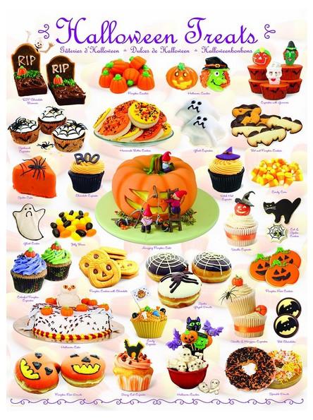 Puzzle Eurographics Dulces de Halloween de 1000 Piezas
