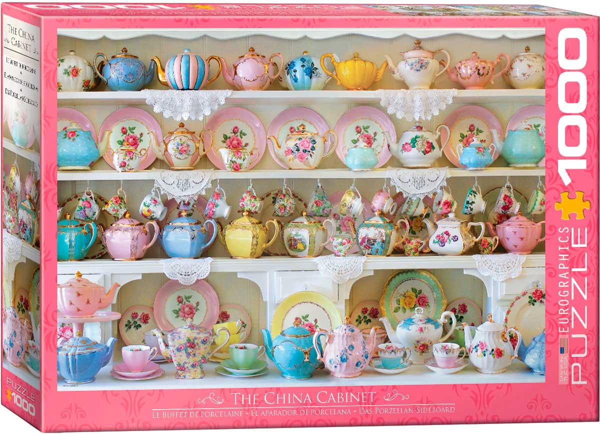 Puzzle Eurographics El Aparador de Porcelana de 1000 Piezas