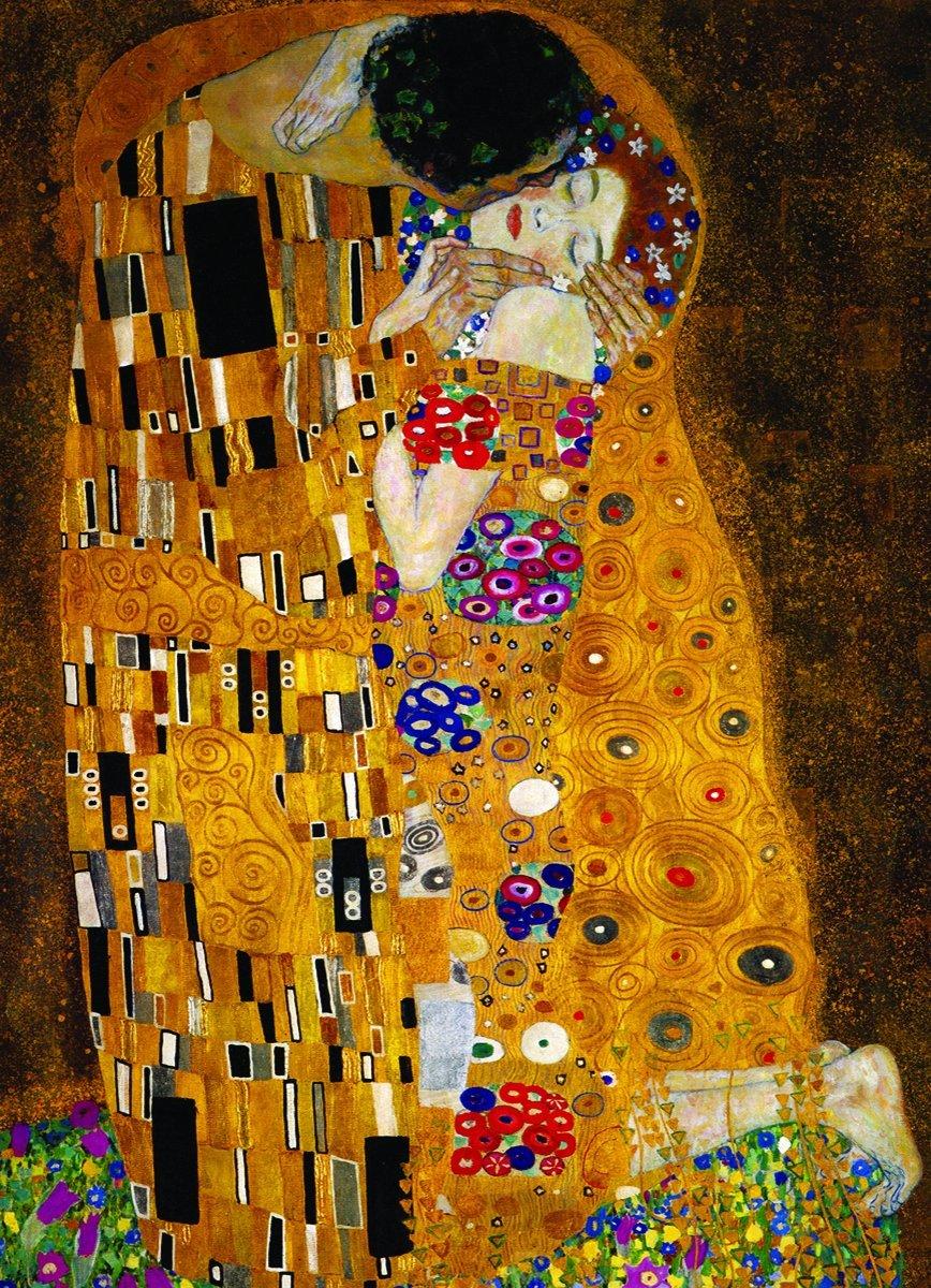 Puzzle Eurographics El Beso de 1000 Piezas