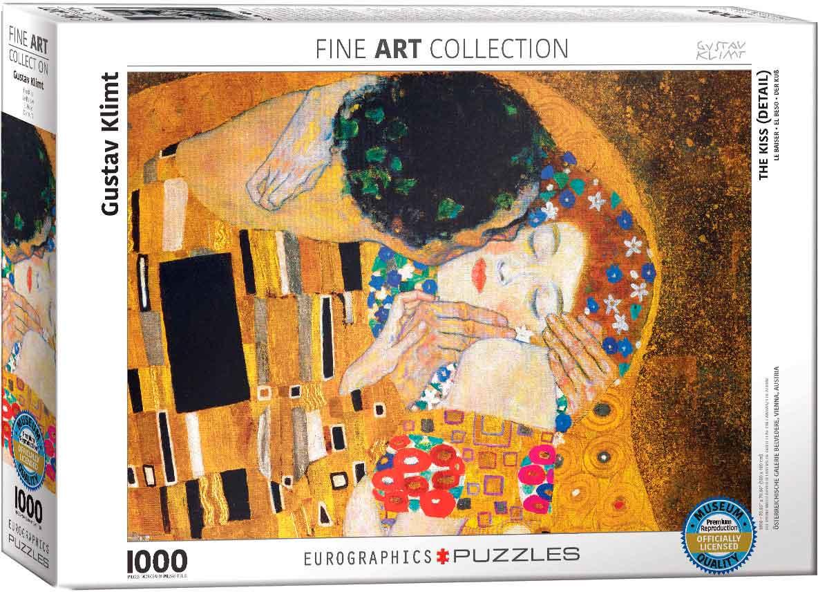 Puzzle Eurographics El Beso (Detalle) de 1000 Piezas