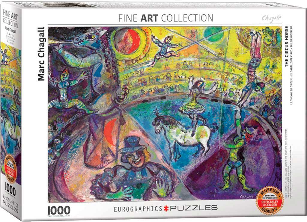 Puzzle Eurographics El Caballo de Circo de 1000 Piezas