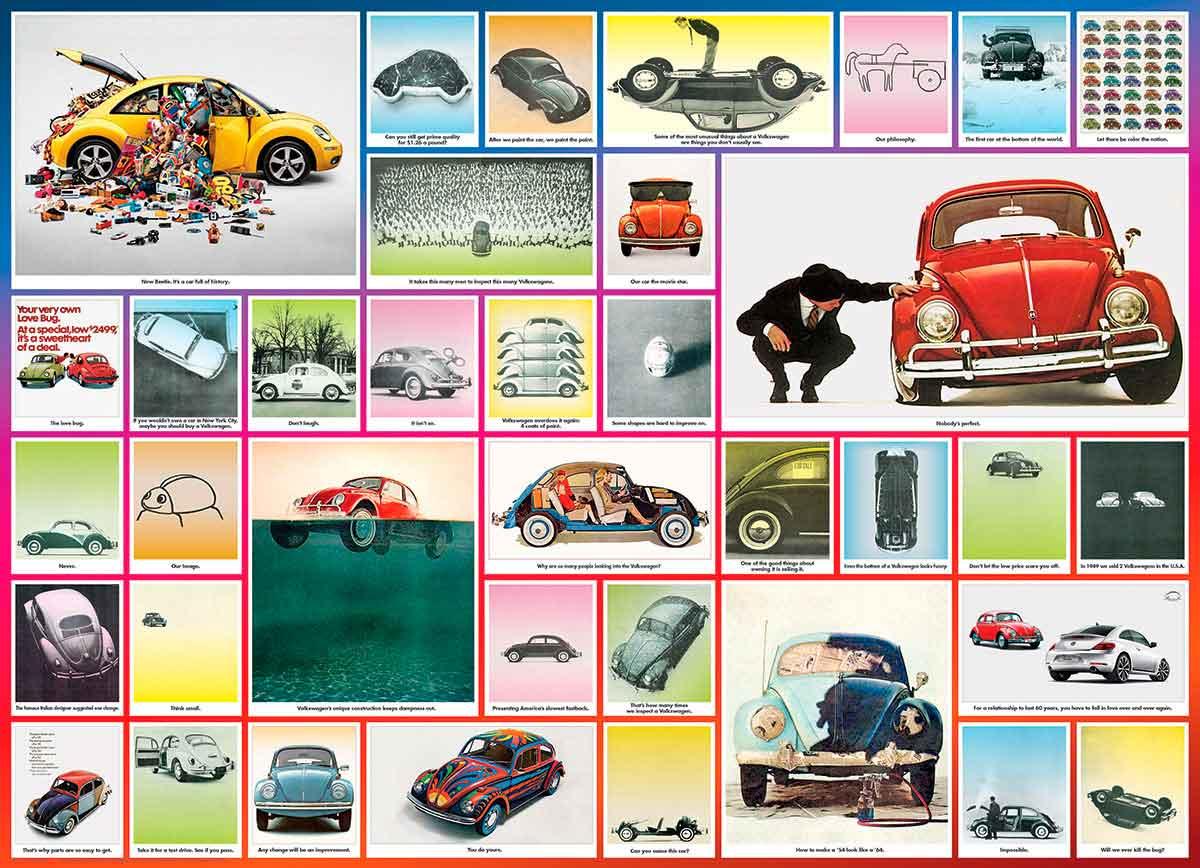 Puzzle Eurographics El Escarabajo 1000 Piezas