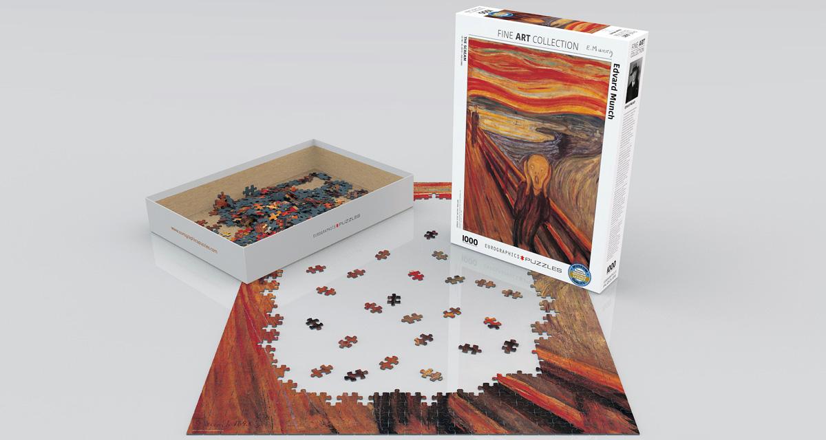 Puzzle Eurographics El Grito de 1000 Piezas