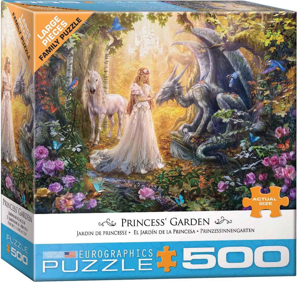 Puzzle Eurographics El Jardín de la Princesa de 500 Pieza