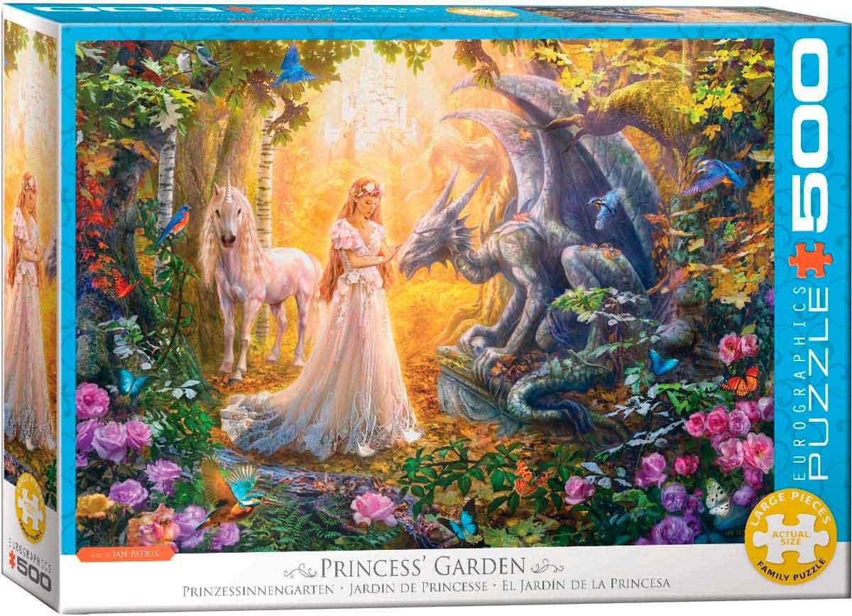 Puzzle Eurographics El Jardín de la Princesa XXL 500p