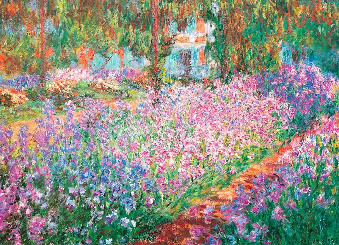 Puzzle Eurographics El Jardín de Monet de 1000 Piezas