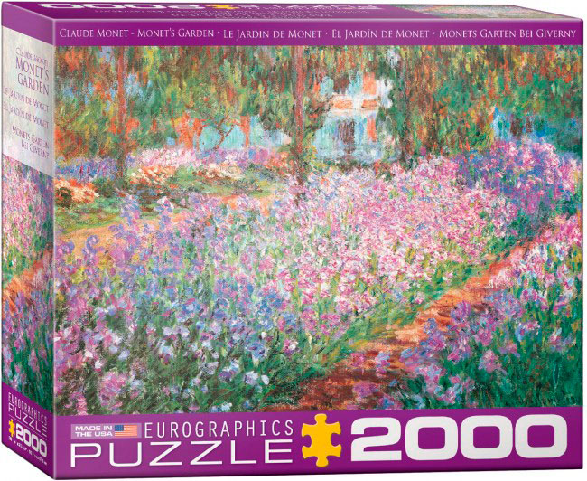 Puzzle Eurographics El Jardín de Monet de 2000 Piezas