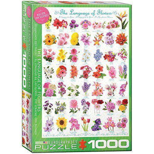 Puzzle Eurographics El Lenguaje de las Flores de 1000 Piezas