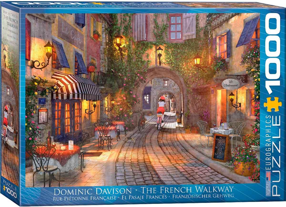 Puzzle Eurographics El Pasaje Francés de 1000 Piezas