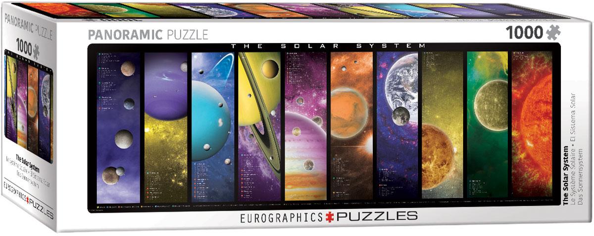 Puzzle Eurographics El Sistema Solar de 1000 Piezas