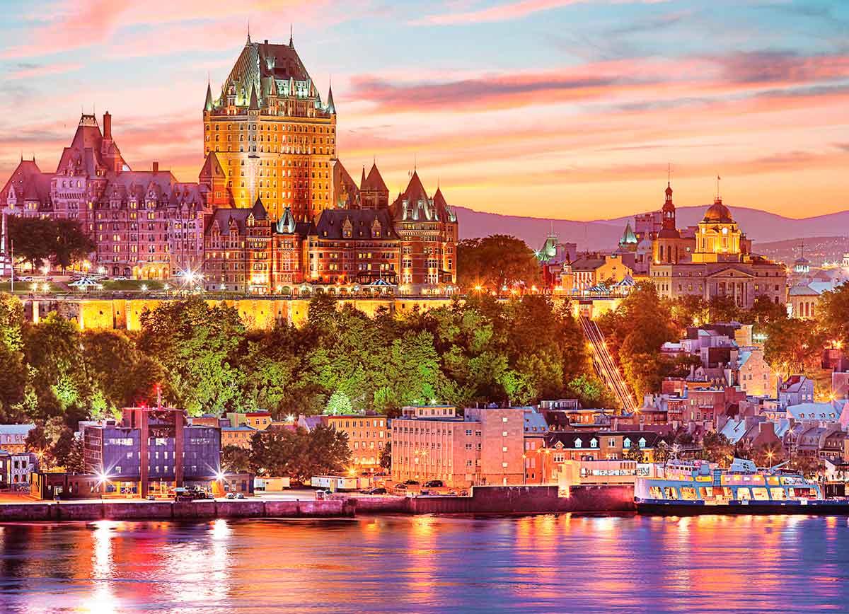 Puzzle Eurographics EL Viejo Québec de 1000 Piezas