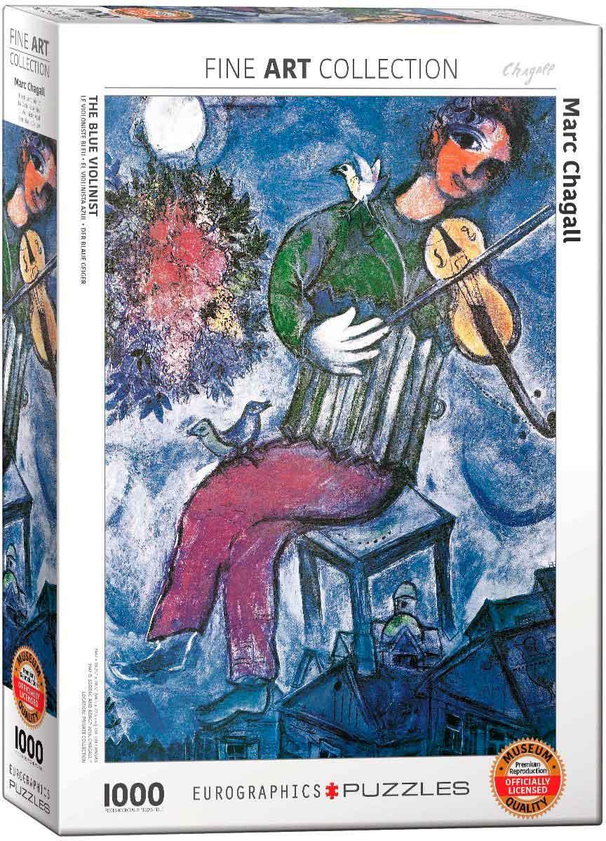 Puzzle Eurographics El Violinista Azul de 1000 Piezas